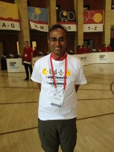 Venki Ramakrishnan apoyando a CienciaConFuturo